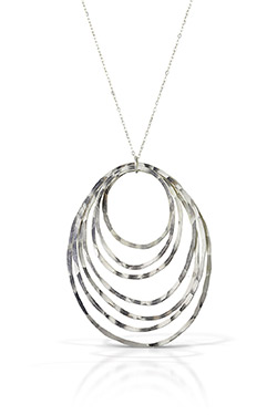 Dawn Necklace on white background