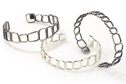 Romano Bracelets on white background